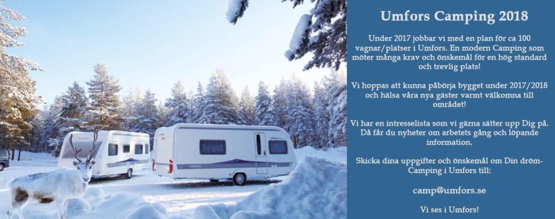 Umfors Camping 2018